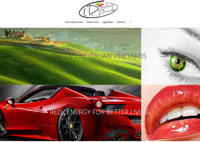 Italian Drink Website