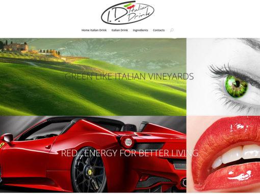 Italian Drink Website