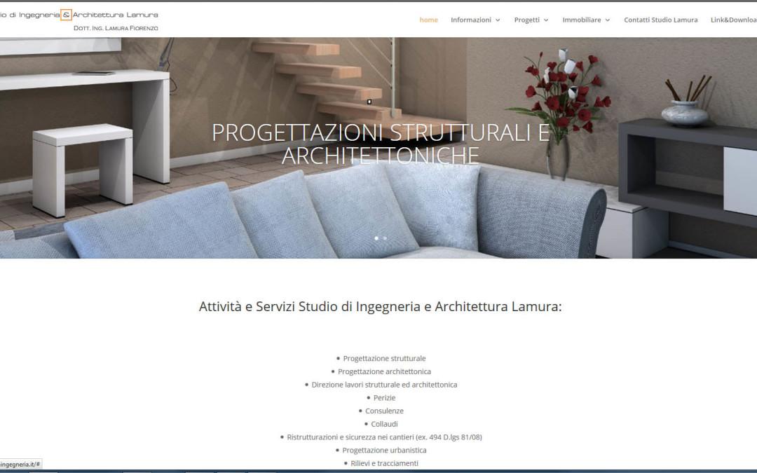 Website Lamura Ingegneria