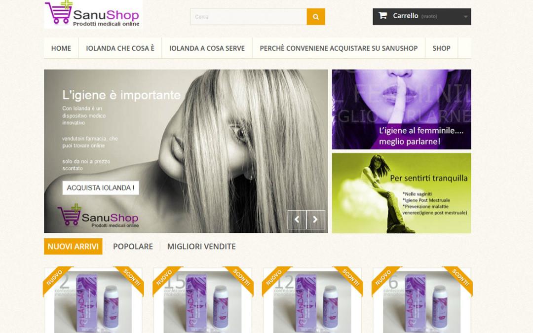 Web Site Sanushop