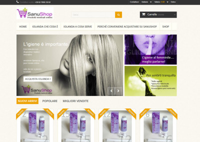 Web Site Sanushop